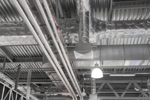 Insulation and fire resisting ductwork.