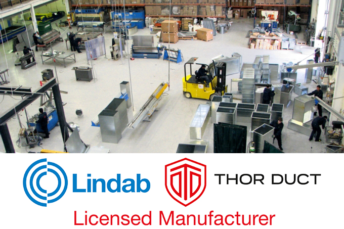 Lindab Thor Duct Licensed Manufacturer